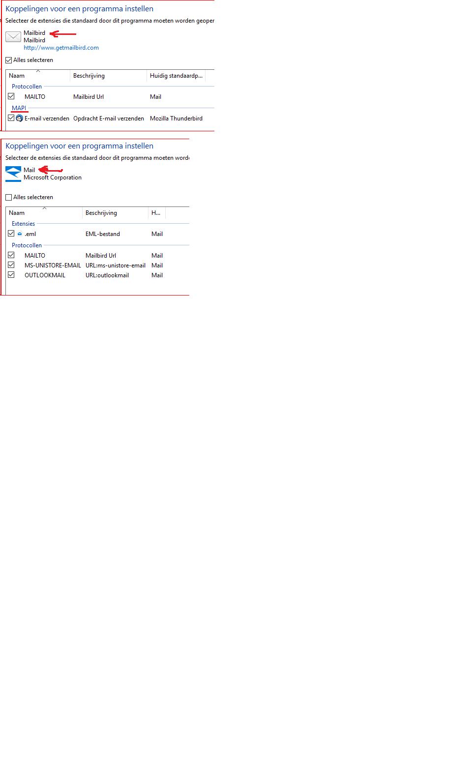 Alaska Software Inc  - WIndows 10 MAPI error